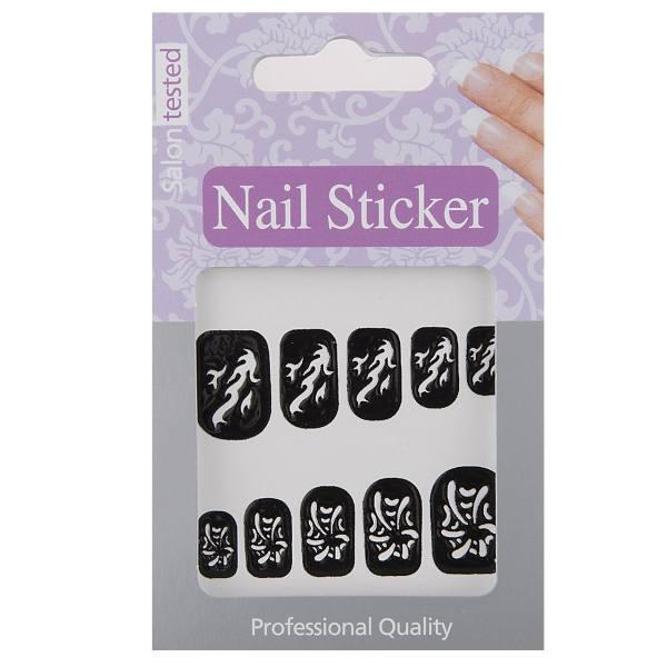برچسب ناخن تریتون سری Nail Sticker مدل STENOIL-02