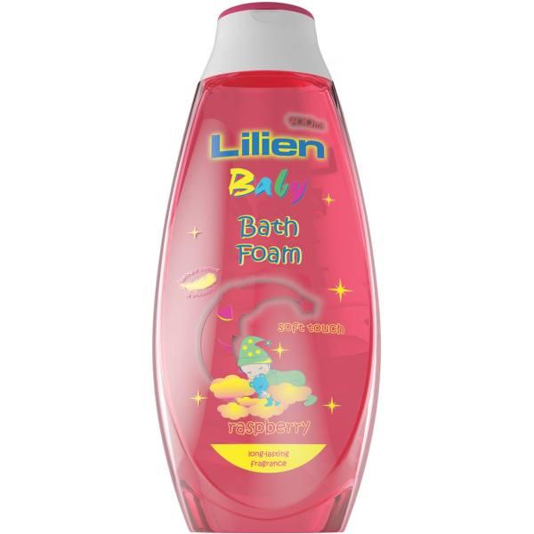 فوم حمام کودک لیلین مدل Raspberry حجم ۴۰۰ میلیلیتر