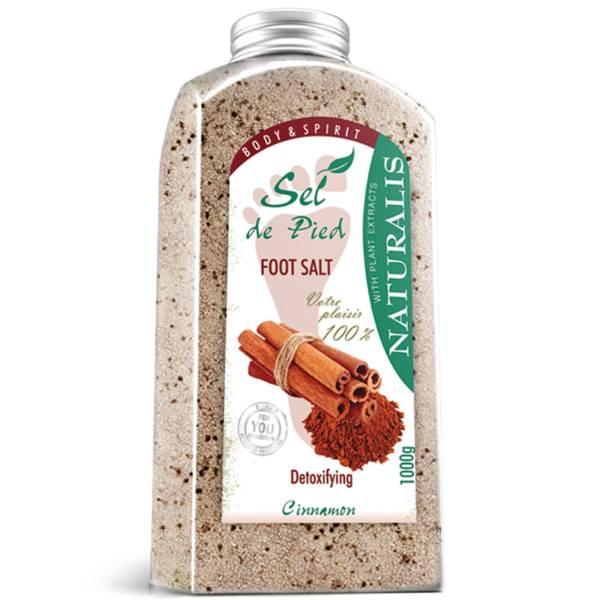 نمک پا نچرالیس مدل Cinnamon وزن ۱۰۰۰گرم