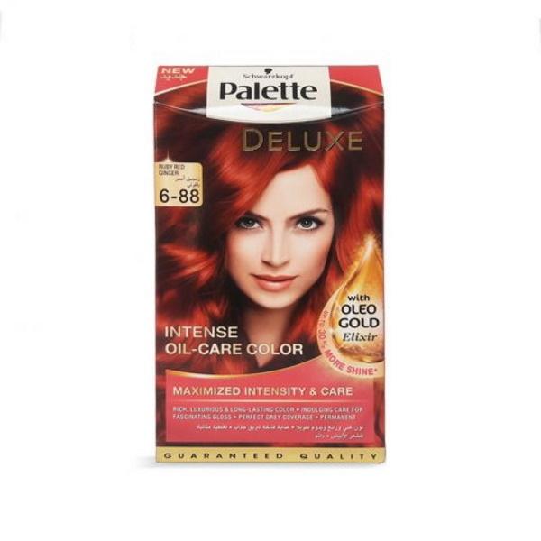 کیت رنگ موی پالت بلوند قرمز Palette Deluxe 6-88
