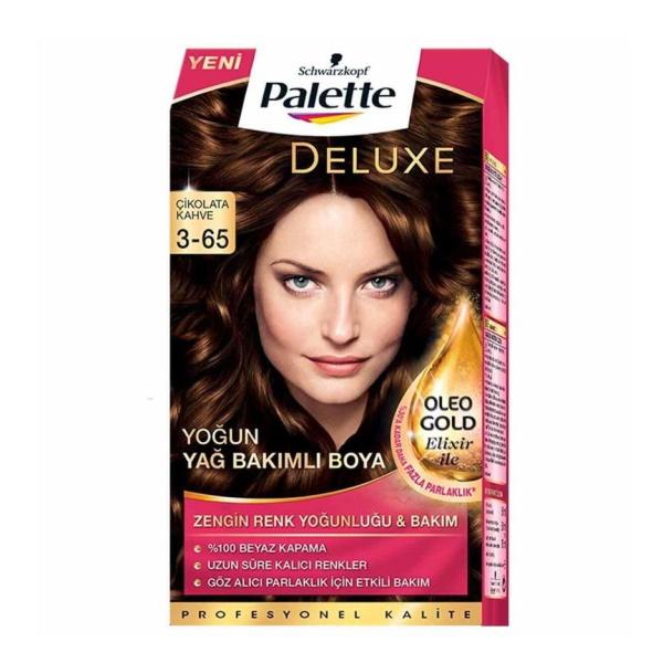 کیت رنگ موی پالت قهوه ای Palette Deluxe 3-65