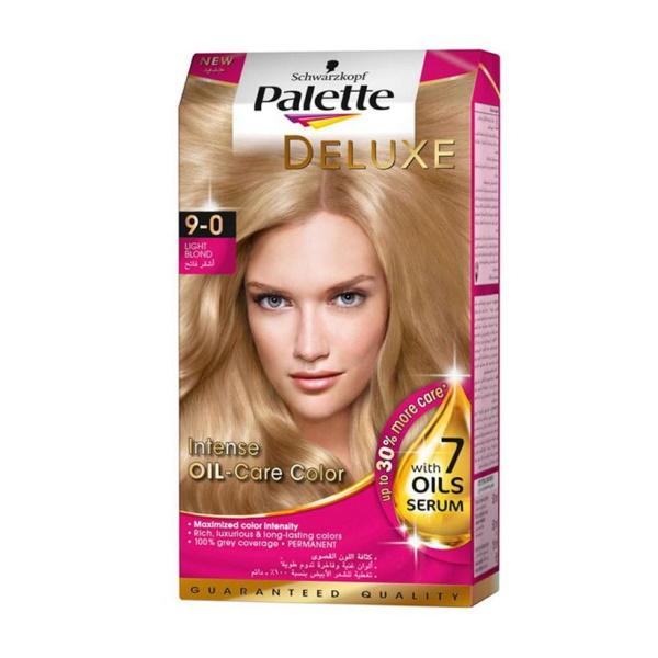 کیت رنگ مو پالت سری Deluxe شماره ۰-۹ بلوند روشن طبیعی