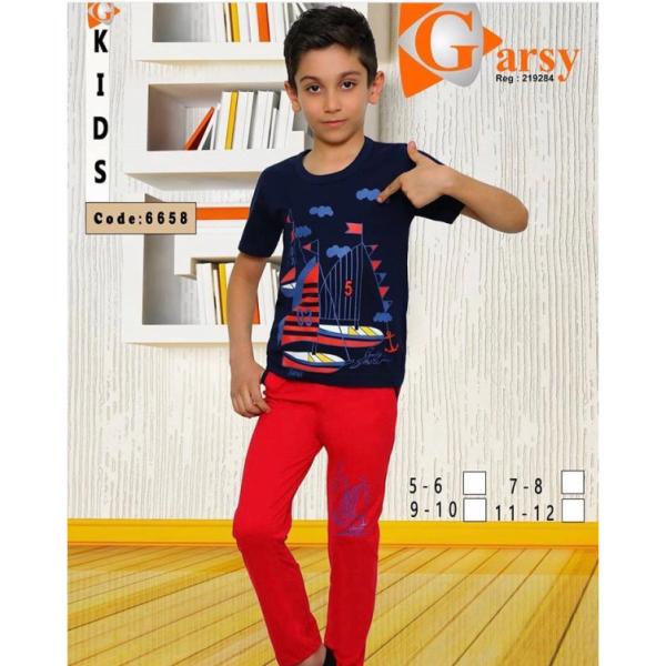 لباس راحتی پسرانه گارسی کد ۶۶۵۸