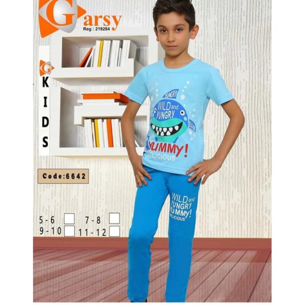 لباس راحتی پسرانه گارسی کد۶۶۴۲