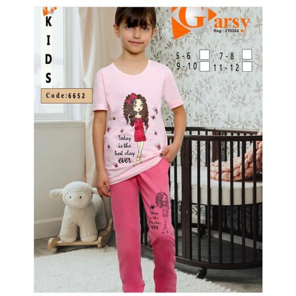 لباس دخترانه گارسی کد 6652