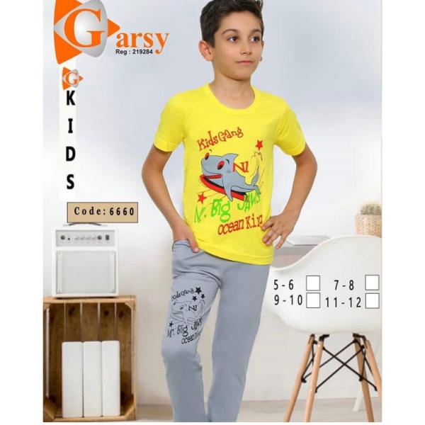 لباس راحتی پسرانه گارسی کد۶۶۶۰