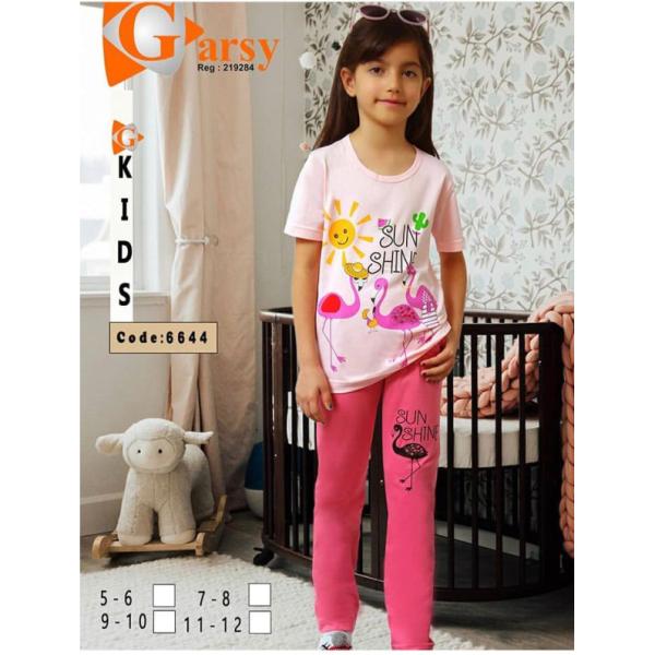 لباس دخترانه گارسی کد 6644