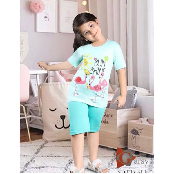 لباس راحتی دخترانه گارسی کد۰۰۱۱