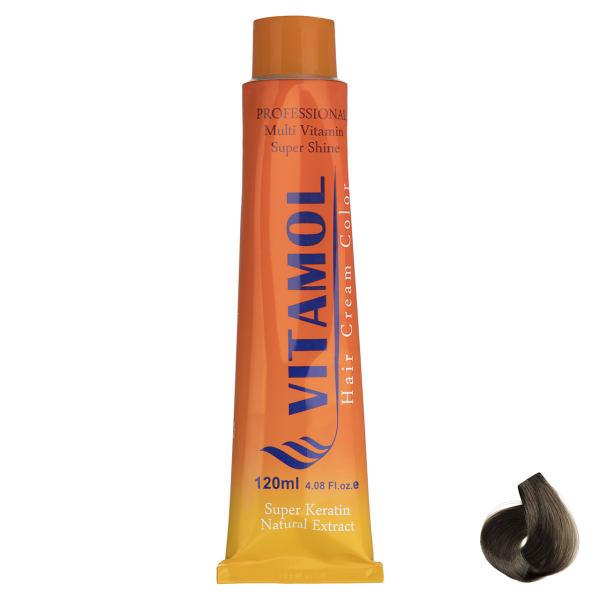 رنگ مو گیاهی ویتامول سری Golden مدل Dark Blonde شماره ۶٫۵