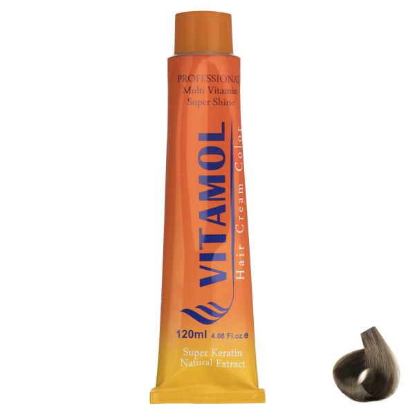 رنگ مو گیاهی ویتامول سری Golden مدل Medium Blonde شماره ۷٫۵