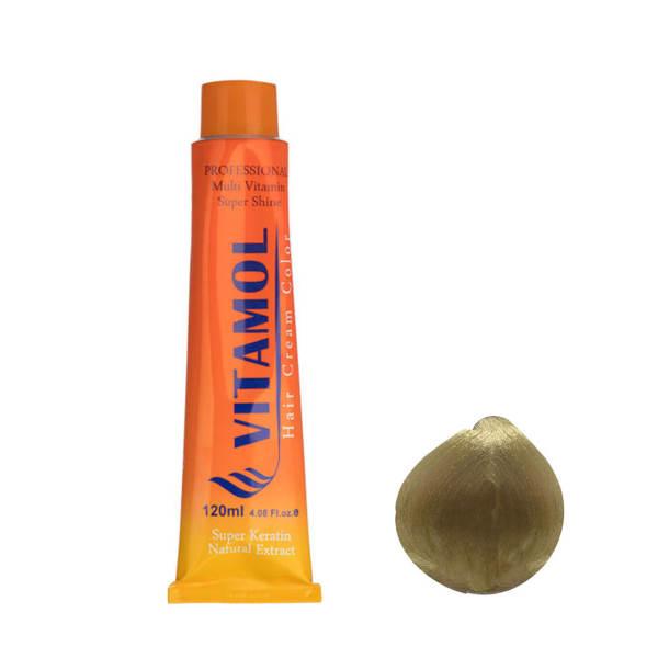 رنگ مو ویتامول شماره ۹٫۰۰ حجم ۱۲۰ میلی لیتر رنگ بلوند قوی روشن