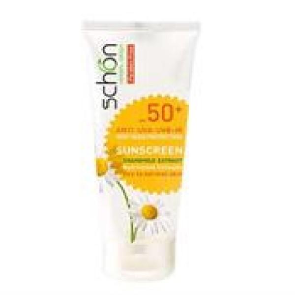ضد آفتاب بدون رنگ اس پی اف 50 مناسب پوست های خشک تا نرمال شون